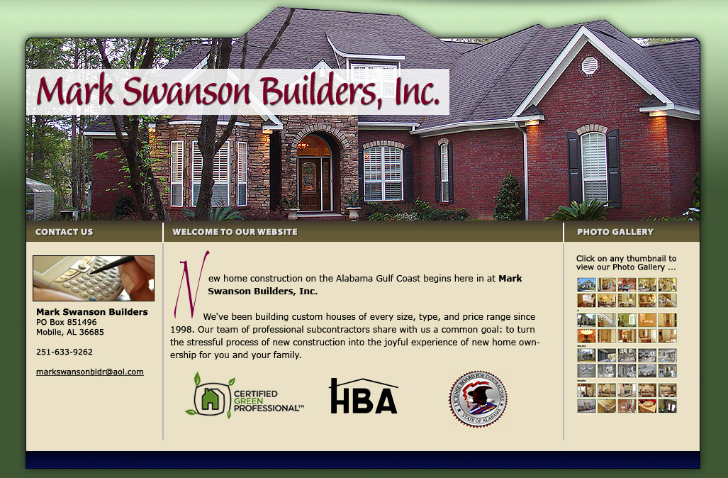 New home construction on the alabama gulf coast mark for Gulf coast home builders